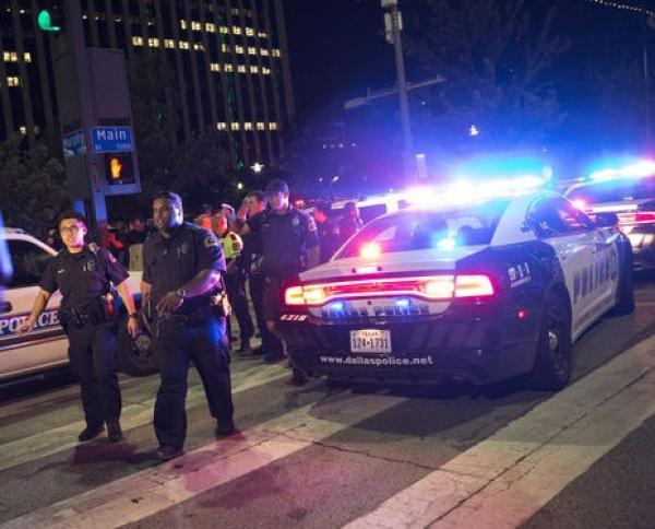 Mataron a cinco policías durante una protesta en Estados Unidos