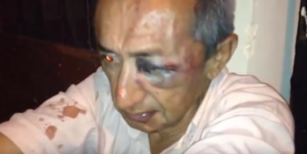 Taxistas atacan a chofer de Uber y queman su vehículo