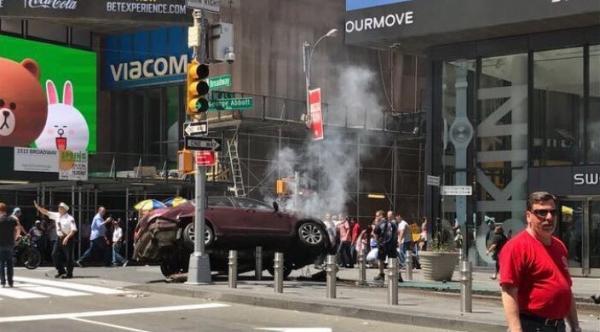 Conductor deja un muerto y 22 heridos en Nueva York, EE.UU