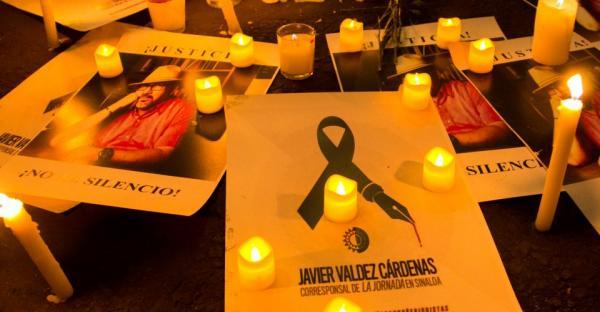 Javier Valdez no recibió