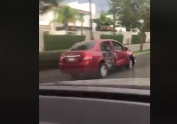 Ebrio conductor siembra el terror en calles de Zapopan, Jalisco