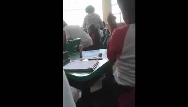 Maestra agrede y reta a golpes a alumno de primaria