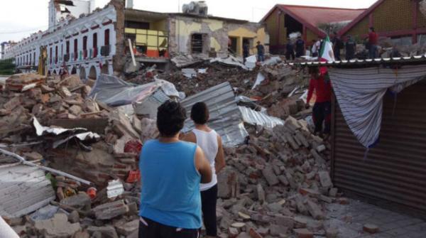 Incrementa a 61 el número de muertos por sismo