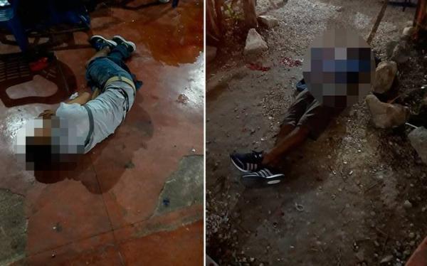 Balacera deja dos muertos y ocho heridos en Cancún