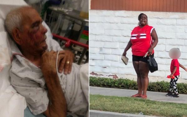 Capturan a mujer que golpeó a hombre de 91 años en EU