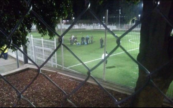#Video Balean a cuatro jugadores durante partido de futbol en Guadalajara