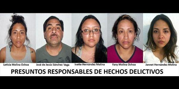 familia molina hernandez: