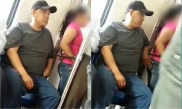 Manoseadas en metro