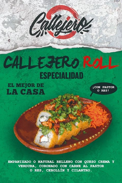callejero roll